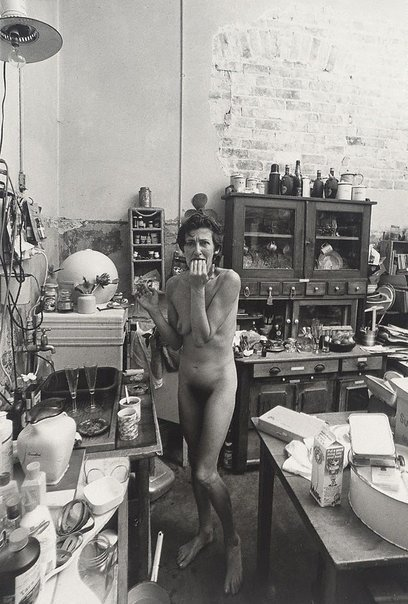 An image of Jude Kuring, artist, Sydney by Lewis Morley