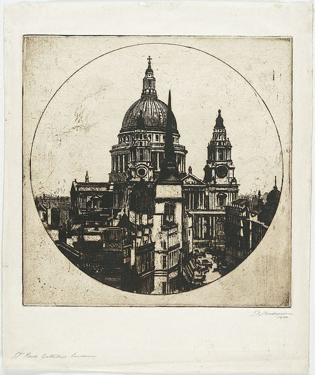 An image of St. Paul's Cathedral, London