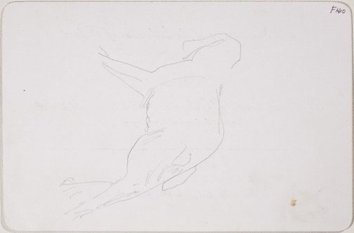 An image of (Dog) (Late Sydney Period) by William Dobell