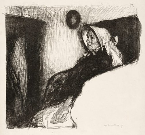 An image of Betty by Archibald Standish Hartrick