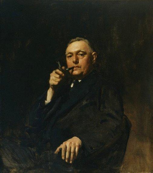 An image of Sydney Ure Smith OBE by W B McInnes