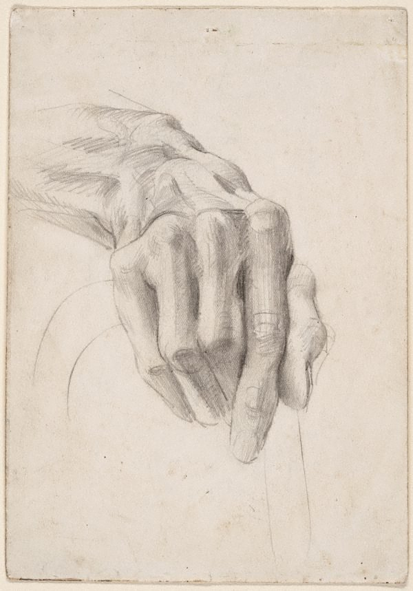 An image of Hand study