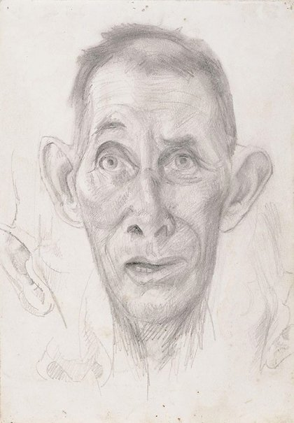An image of Head study by Eric Wilson