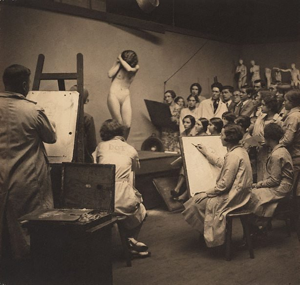 An image of Life class, The Sydney Art School