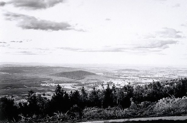 An image of View north-west from Tumorrama Mountain, Bondo State Forest