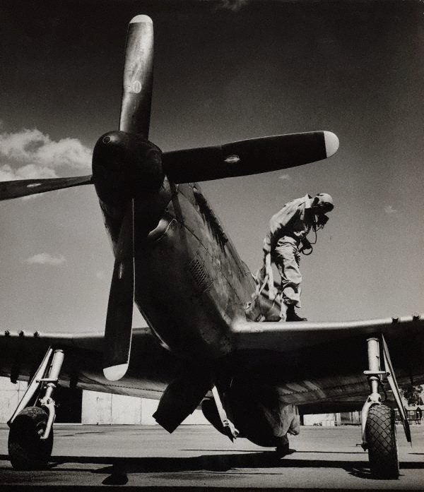 An image of untitled (airplane and pilot)