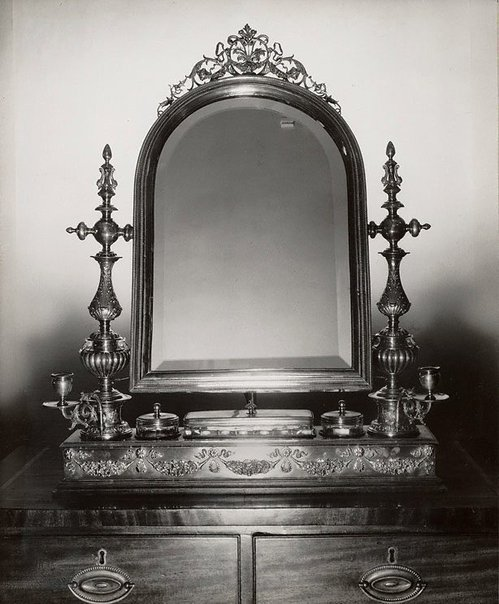 An image of Untitled (mirror on chest) by Max Dupain
