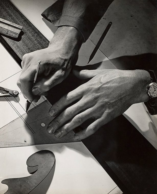 An image of Untitled (draftsman's hands)