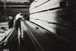 Alternate image of recto top: Untitled (cutting milled timber) recto bottom: Untitled (loading timber) by Max Dupain