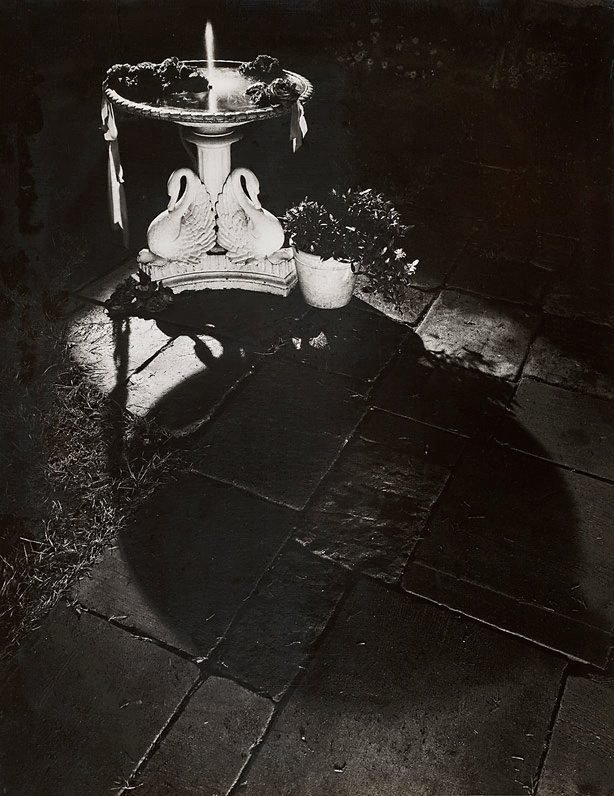 An image of Untitled (fountain at night)