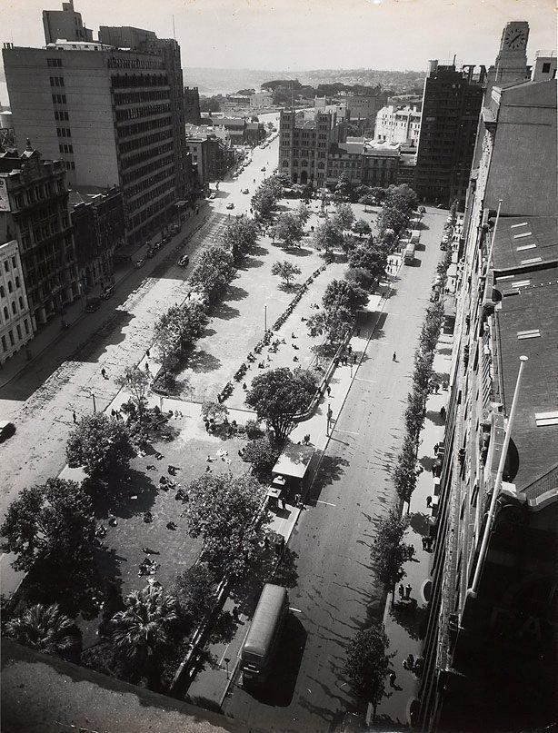 An image of Untitled (overhead view of Wynyard park)