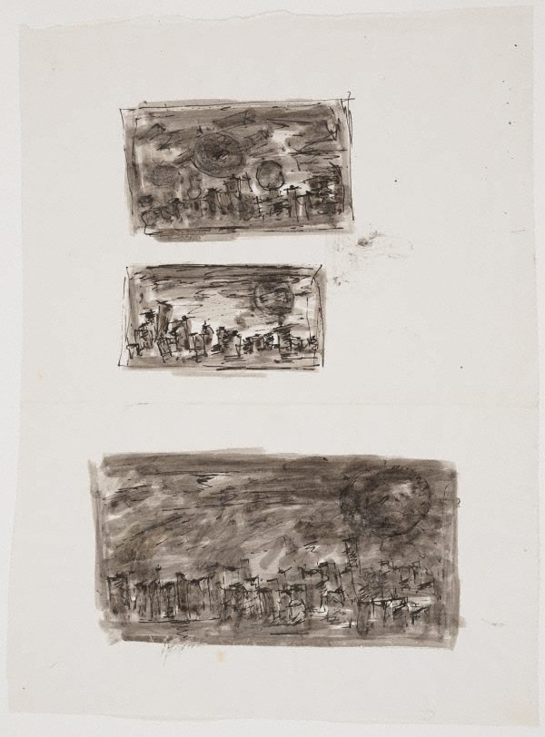 An image of Untitled – three studies