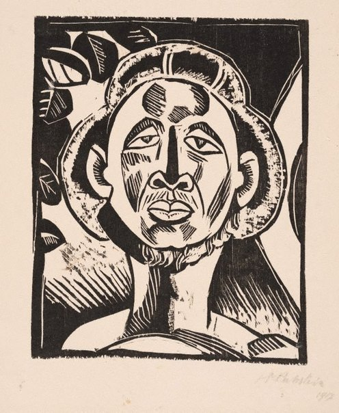 An image of Klouruback by Max Pechstein