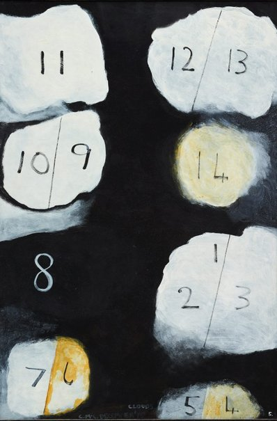 An image of Clouds 5 by Colin McCahon