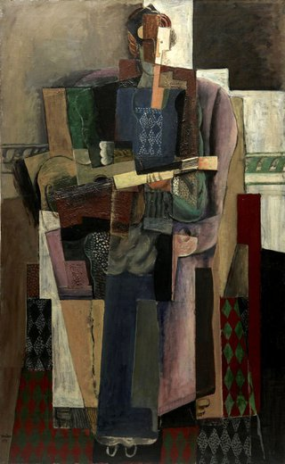 AGNSW collection Henri Hayden The Guitarist (1919) 9808
