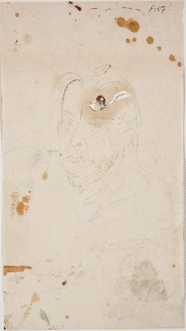 An image of (Self-portrait studies) (Late Sydney Period)