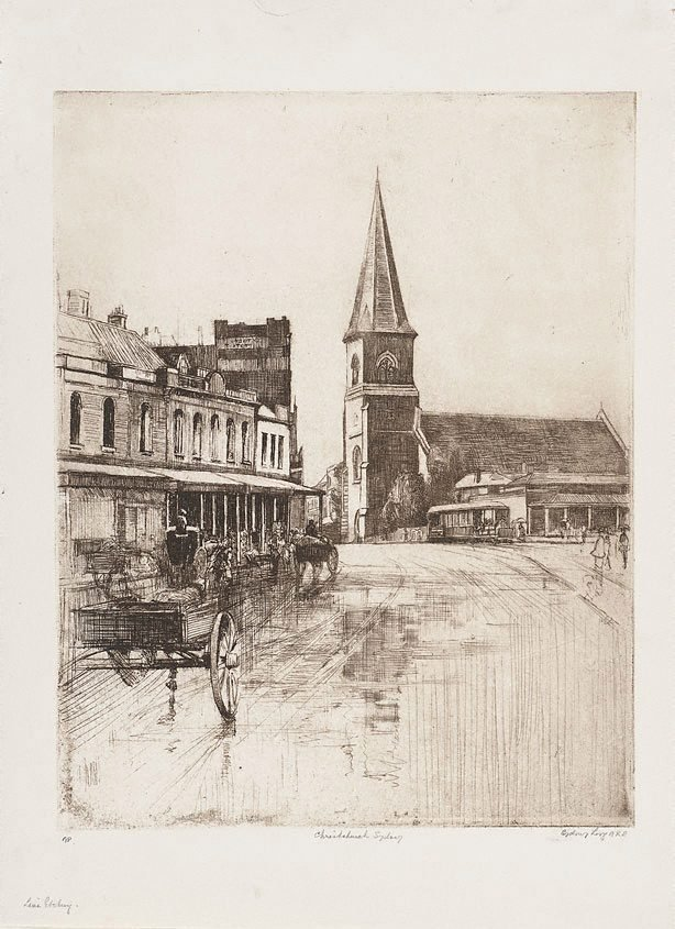 An image of Christ Church, Old Sydney