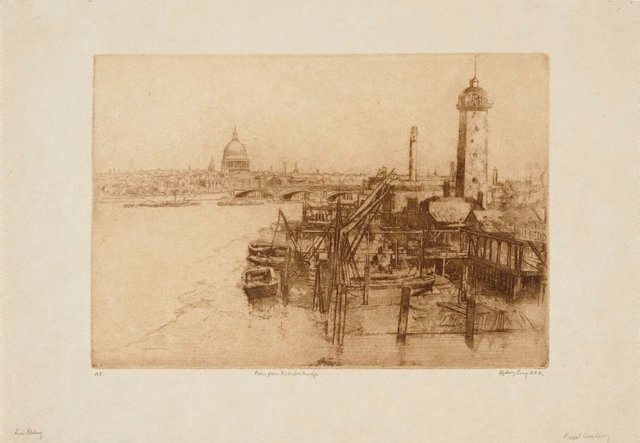 An image of The Thames from Waterloo Bridge