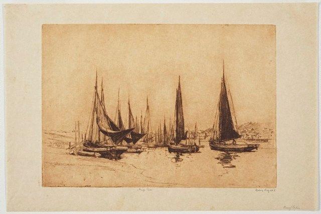 An image of Fishing boats, King's Lynn