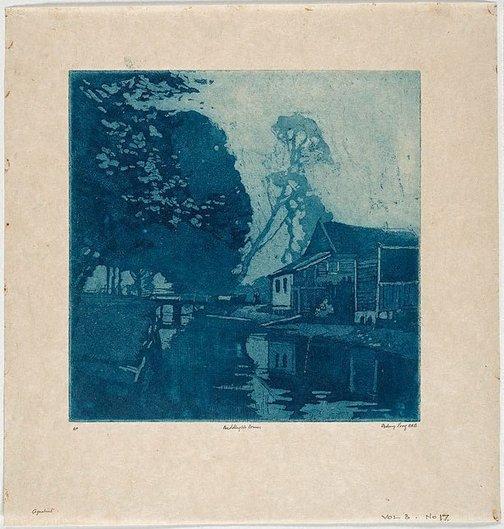 An image of Beddington Corner by Sydney Long