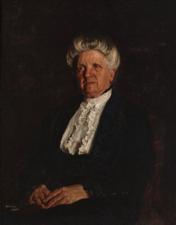 An image of Portrait (Miss Margaret Harris)