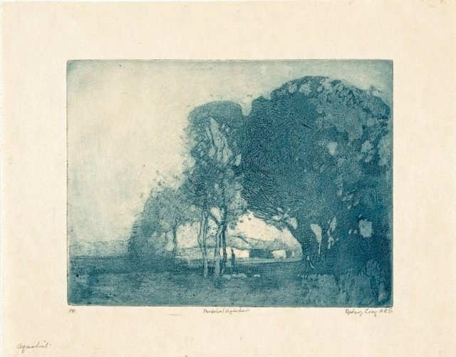 An image of Pastoral aquatint