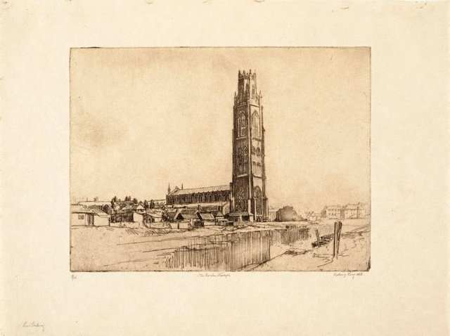 An image of The Boston Stump (St Botolph's Church)