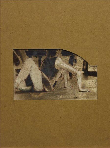 An image of Fallen figure from modern times by Warren Breninger