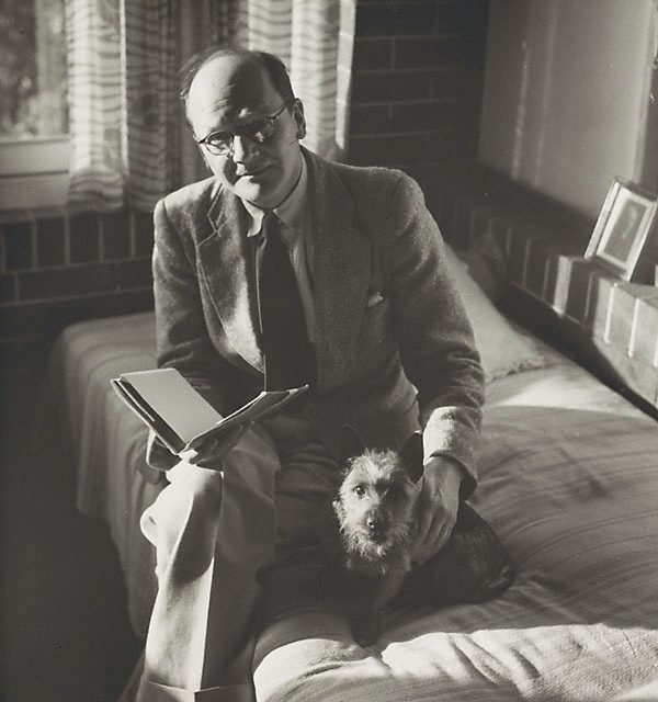 An image of Untitled (man with dog I)