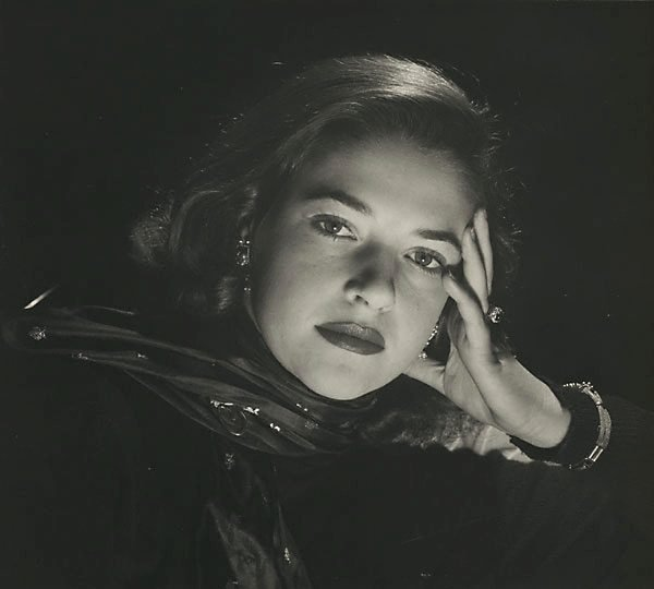 An image of Untitled (woman in scarf II)