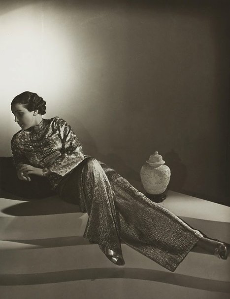 An image of Untitled (woman in Chinese top) by Max Dupain