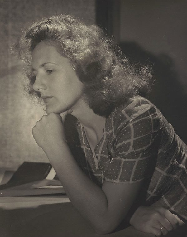 An image of Untitled (woman in profile)