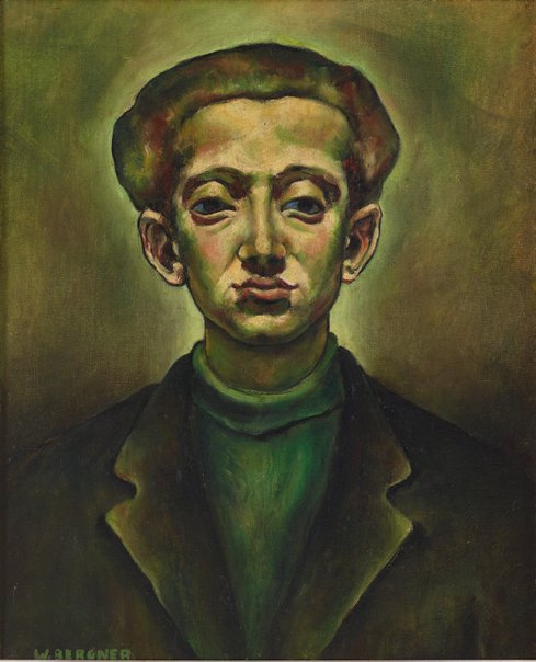 An image of Self-portrait by Yosl Bergner