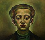 Alternate image of Self-portrait by Yosl Bergner