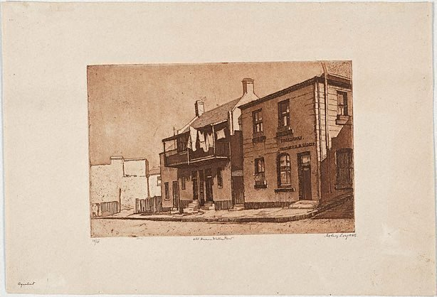 An image of Old houses, Miller's Point