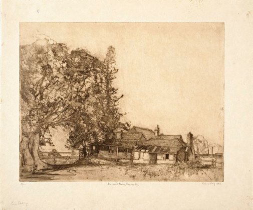 An image of Waratah House, Newcastle by Sydney Long