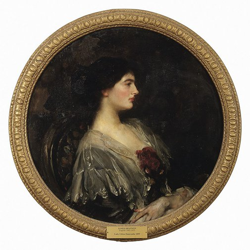 An image of Portrait of Lady Ulrica Duncombe by James Jebusa Shannon