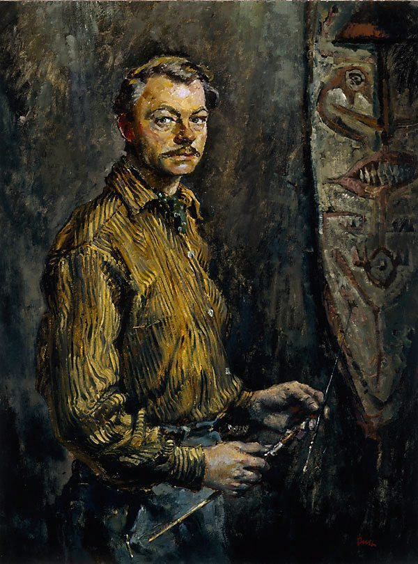 An image of Self portrait at 38