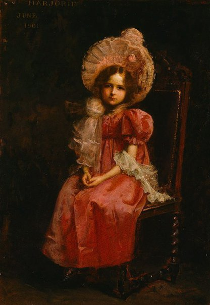 An image of Marjorie by John Longstaff