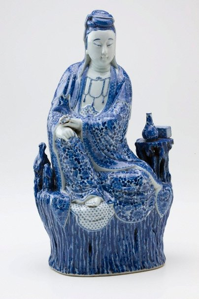 An image of Kannon, bodhisattva of compassion by