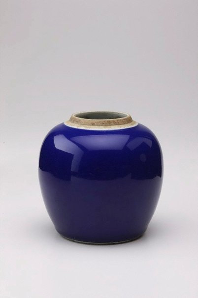 An image of Globular shaped jar by