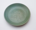 Alternate image of Dish with incised peony motive by