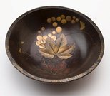 Alternate image of Bowl with design of grapes by Meiji export ware