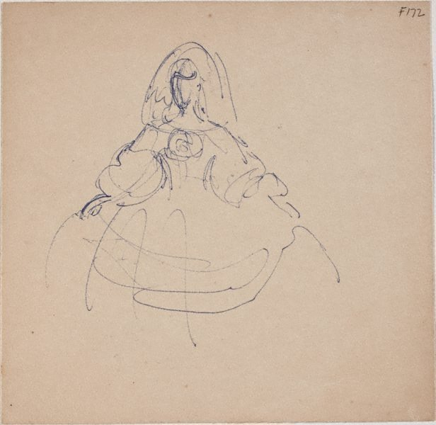 An image of (Study of a woman) (Late Sydney Period)