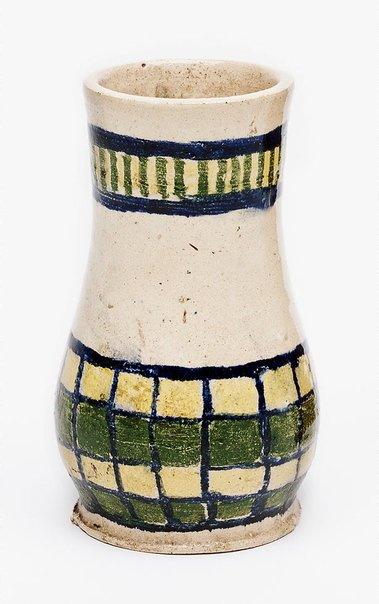 An image of Vase with abstract design by Margaret Preston