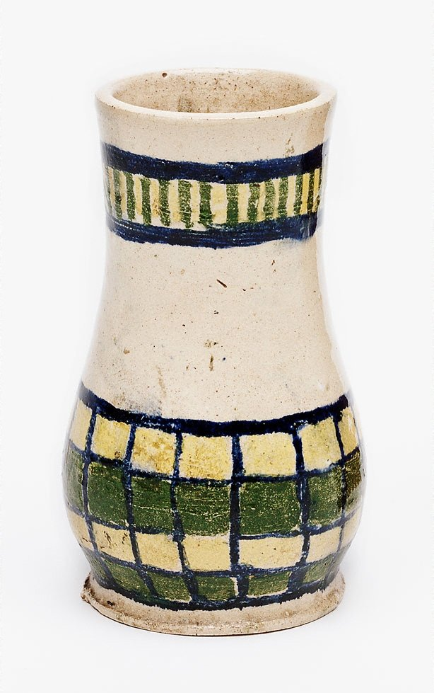 An image of Vase with abstract design