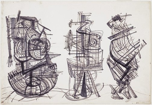 An image of Drawing, March 1951 by Robert Klippel