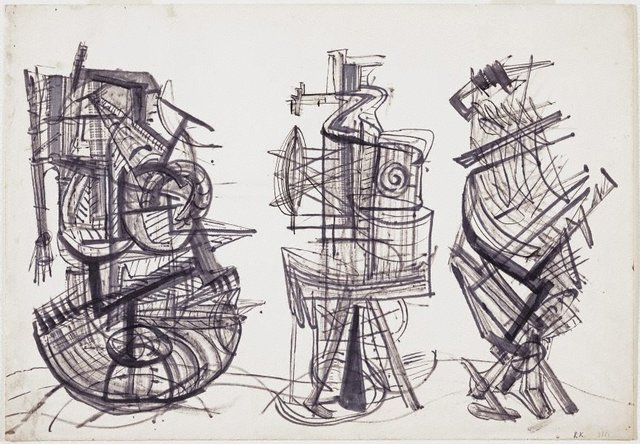 An image of Drawing, March 1951