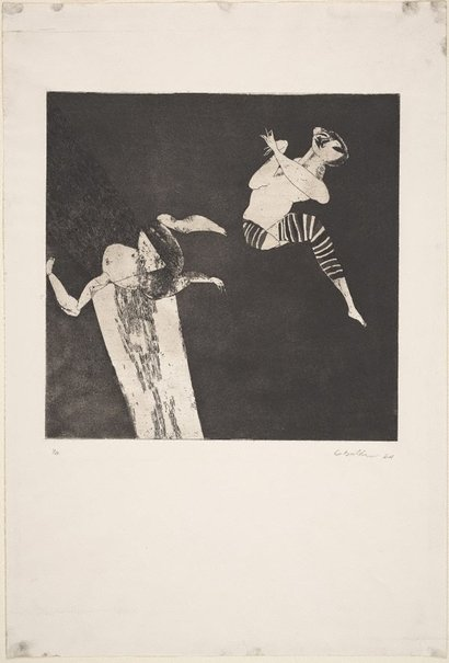 An image of Acrobat by George Baldessin