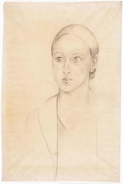 An image of Portrait study, Ellen Rubbo by Rah Fizelle